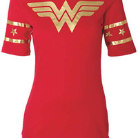 Wonder Woman Hockey Tee at Alloy