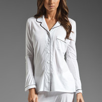 Only Hearts Piped Pajama Set in White/Black from REVOLVEclothing.com