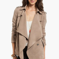 Draping Wrap Coat $44