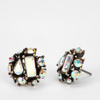 Rhinestone Cluster Earring