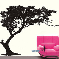 Huge Exuberant Tree 84by72inchart  Vinyl wall decals by ccnever