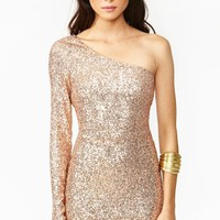 High Shine Dress