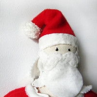 Santa Claus Doll - Ooak Christmas figure