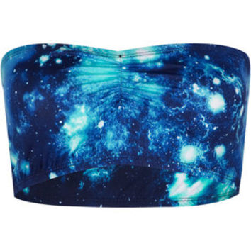 Galaxy Bandeau Blue  In Sizes