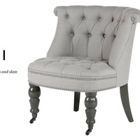 Bouji Chair in pavilion grey and slate   made.com