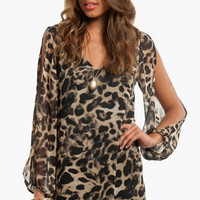 Fancy Feline Shift Dress $40