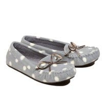 Aerie Cozy Dot Moc Slipper | Aerie for American Eagle
