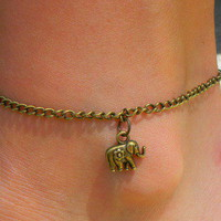 Brass Anklet! from Paris Heroin Stars' Boutique