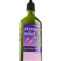Stress Relief - Eucalyptus Tea Body Lotion   - Aromatherapy - Bath &amp; Body Works
