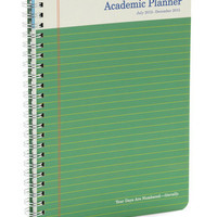 Scholastic Smarty Academic Planner | Mod Retro Vintage Desk Accessories | ModCloth.com