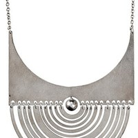 TAPIO WIRKKALA, A Tapio Wirkkala sterling pendant &#x27;Half-Moon&#x27; and chain by Nils Westerback, Helsinki 1972. Height of pendant 8,5 cm.. - Spring Modern Auction, Stockholm 560  Bukowskis