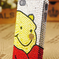 iPhone4 Teddy Bear Protective Skin Cover: gulleitrustmart.com