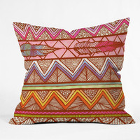 DENY Designs Home Accessories | Lisa Argyropoulos Two Feathers Throw Pillow