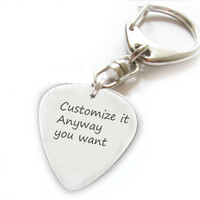 Personalized Keychain Customize Anyway you want Hand Stamped Key chain men gift birthday