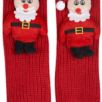 ELF Christmas Santa  Slipper Socks - Slippers  - Shoes