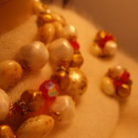 Deauville Orange Crystal Demi Parure Set from giltygirlvintage on Ruby Plaza