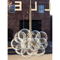 Small Bubble Chandelier by PELLE