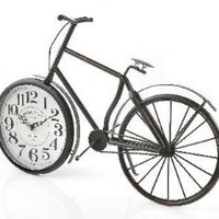 Amazon.com: Princess International BC-330 Vintage Bicycle Clock: Home &amp; Kitchen