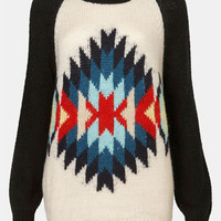 Topshop &#x27;Eye Dazzler&#x27; Sweater | Nordstrom