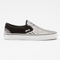 Striped Sequins Slip-On