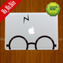 3M/Harry Potter-Macbook Decals Macbook Stickers Mac Cover Skins Vinyl Decal for Apple Laptop Macbook Pro/Macbook Air/Uniboday Partial skin
