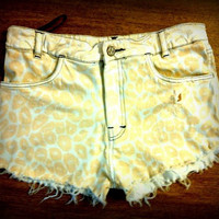 Cheetah Highwaisted Shorts