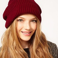 ASOS Rib Boyfriend Beanie at asos.com