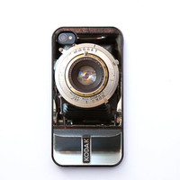 Christmas, iPhone 4 Case, iPhone 4s case, vintage camera, Kodak Six-Twenty, iPhone cover for photographers