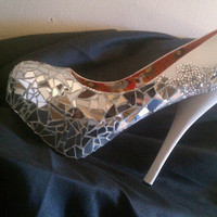 Mirror Mosaic Heels