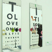 Innervision Mirror by Gavin Coultrip for Thorsten Van Elten - Free Shipping