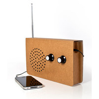Suck UK: Cardboard Radio Speaker, at 30% off!