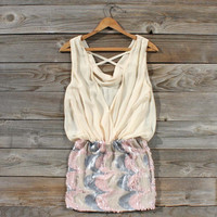 Moon River Dress in Cream, Sweet Women's Country Clothing