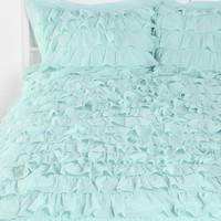Waterfall Ruffle Sham - Set of 2