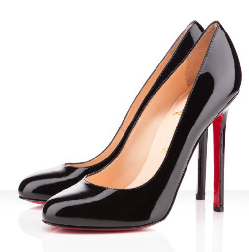 Christian Louboutin Lady Lynch 120mm Black Pump [2011092002] - $185.00 : Christian Louboutin Shoes On Sale, Enjoy 75% Off The Shoes Outlet!
