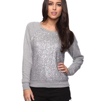 Sequin Embellished Pull Over