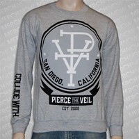 PTV Heather Grey Crewneck : Pierce The Veil