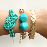 Arm candy set - 24k gold plated