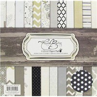 "12"" x 12"" Country Boutique Paper Pad 