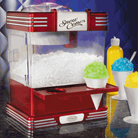 Nostalgia Electrics RSM-602 Retro Snow Sno Cone Maker Ice Shaver Machine
