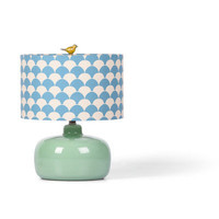 Foreside - Lucy Lamp, Green Glass