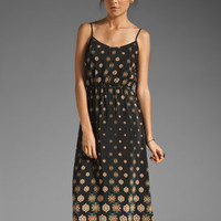 Twelfth Street By Cynthia Vincent Santa Ana Cami Waisted Maxi in Black Foulard from REVOLVEclothing.com