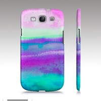Samsung Galaxy s3 case, watercolor design, abstract painting, art for your phone