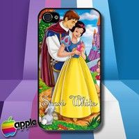 Princes Snow White and The Seven Dwarfs iPhone 4 or iPhone 4S case Cover