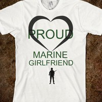 Proud marine girlfriend - The Kay Designs