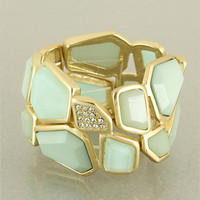Mint Josephine Statement Bracelet | Awesome Selection of Chic Fashion Jewelry | Emma Stine Limited