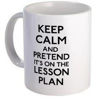 Keep Calm Plan Mug	 Keep Calm Lesson	 Label Me Happy