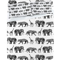 DENY Designs Home Accessories | Sharon Turner Graphic Zoo Sheet Set