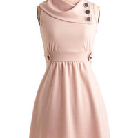 Coach Tour Dress in Rose | Mod Retro Vintage Dresses | ModCloth.com