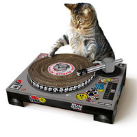 Suck UK: SUCK UK Cat Scratch DJ Deck, at 17% off!