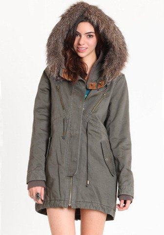 Gentle Fawn Rustle Parka | Tigertree Rustle Parka